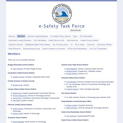 Members - e-Safety Task Force