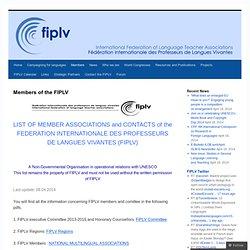 Members of the FIPLV | fiplv