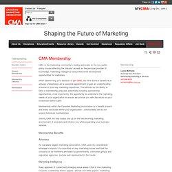 CMA Membership
