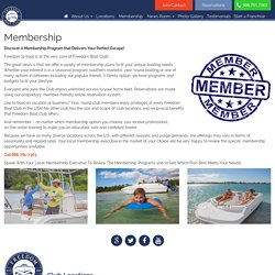 Freedom Boating Clubs