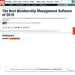 The Best Membership Management Software of 2017