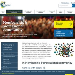 Membership and professional community
