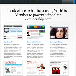 Membership Software | WordPress Membership Plugin