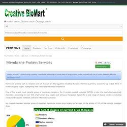 Membrane Protein Services