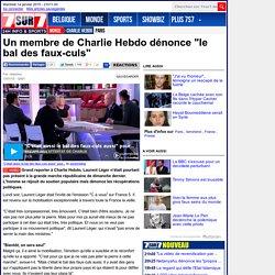 """Un membre de Charlie Hebdo dénonce """"le bal des faux-culs"""""""