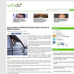 Les membres de Bakchich étaient espionnés par le RCD en France