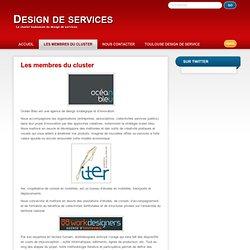 Les membres du cluster » Design de services