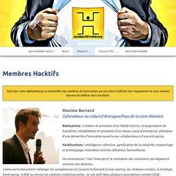 Membres Hacktifs – Les Hacktivateurs