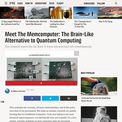 Meet The Memcomputer: The Brain-Like Alternative to Quantum Computing