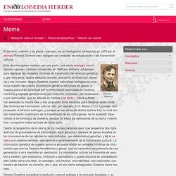 Meme - Encyclopaedia Herder