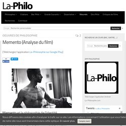 Memento (Analyse du film)