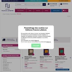 Mementos Social - Éditions Francis Lefebvre