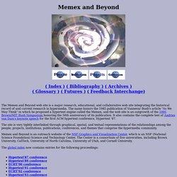 Memex and Beyond Web Site