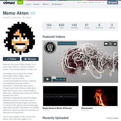 Memo Akten on Vimeo