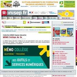 MEMO Collège 4e 3e