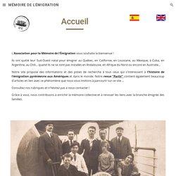 MÉMOIRE DE L'ÉMIGRATION