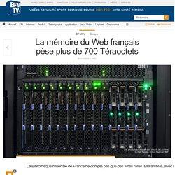 La mémoire du Web français pèse plus de 700 Téraoctets