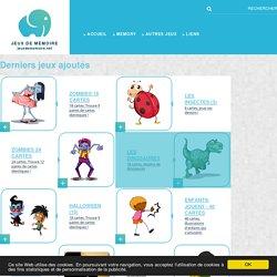 Jeux de mémoire en ligne gratuit pour enfants, adultes et seniors