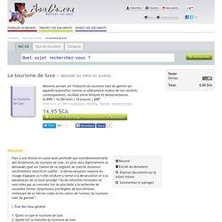 Mémoire ou thèse sur Le tourisme de luxe № 8493