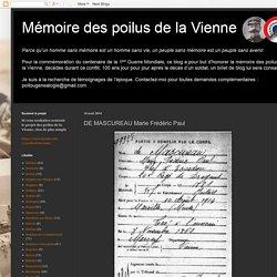 DE MASCUREAU Marie Frédéric Paul