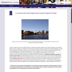 Mémoire de la Razzia négrière dans les ports anglais & français