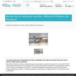 Musée de la Mine de Provence - Saint-Maime