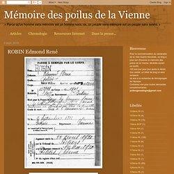 ROBIN Edmond René
