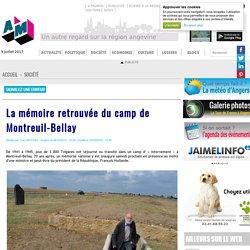 Maine-et-Loire - La mémoire retrouvée du camp de Montreuil-Bellay