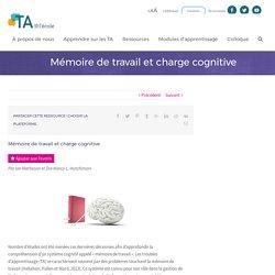 Mémoire de travail et charge cognitive - TA@l'école