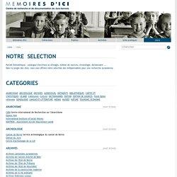 Mémoires d'Ici - Liens - Liens