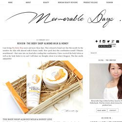 Memorable Days : Beauty Blog - Korean Beauty, European, American Product Reviews.