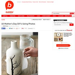 Memorable Gifts for Mother's Day