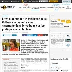 Livre numérique : le ministère de la Culture veut aboutir à un «memorandum de cadrage sur les pratiques acceptables»