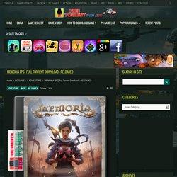 MEMORIA [PC] Full Torrent Download – RELOADED