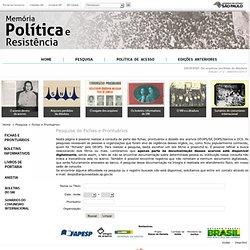 :: Memória Política e Resistência ::