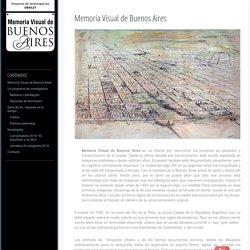 Memoria Visual de Buenos Aires
