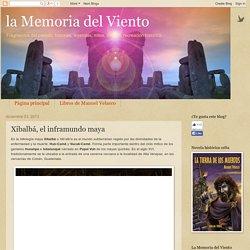 la Memoria del Viento: Xibalbá, el inframundo maya