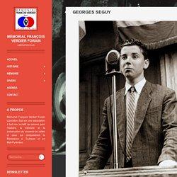 Georges Seguy - Mémorial François Verdier ForainRésistance Toulouse