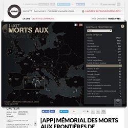 [APP] Mémorial des morts aux frontières de l'Europe