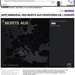 [APP] Mémorial des morts aux frontières de l'Europe » Article » OWNI, Digital Journalism