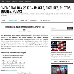 Free Memorial Day Photos Pictures Wallpapers for 2017