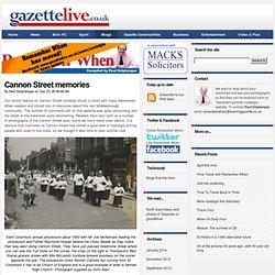 Cannon Street memories