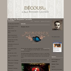 Memories Part II : Le blog de Benjamin Lacombe