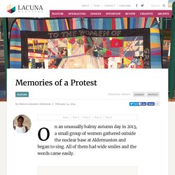 Memories of a Protest