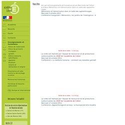 Vidéos des conférences «Mémoire(s) et mémorisation dans le cadre des apprentissages»