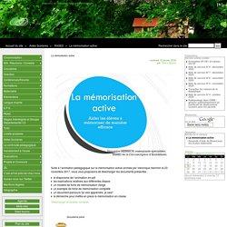 La mémorisation active - Inspection de l'Education Nationale d'Andolsheim