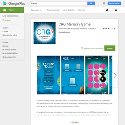 CRG Memory Game - Aplicaciones Android en Google Play