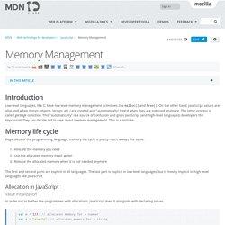 Memory Management - JavaScript