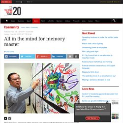 All in the mind for memory master - Community