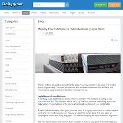 Memory Foam Mattress vs Hybrid Mattress